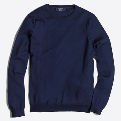 Merino crewneck sweater