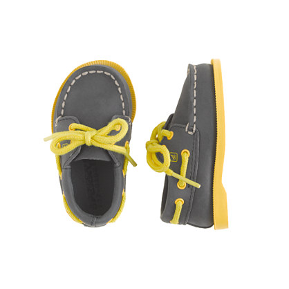 Sale alerts for J.CREW Baby Sperry Top-Sider® authentic original 2-eye boat shoes - Covvet