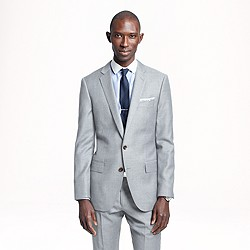 Ludlow suit jacket in pinstripe Italian wool