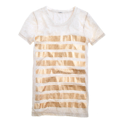 Bar-stripe tee