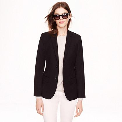 Women's Ludlow blazer in wool gabardine