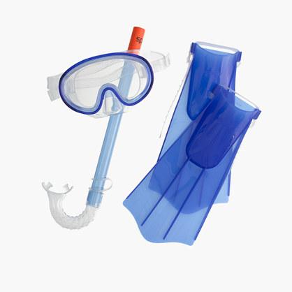 Kids' Speedo® Aqua Quest snorkel set