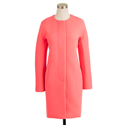Double-cloth Sabrina coat