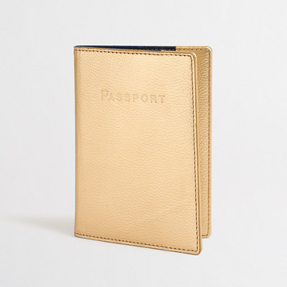 Factory leather passport case