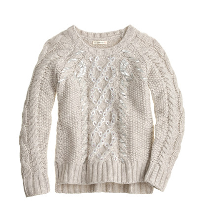 Jun 12,  · A cable pattern down the front of this sweet knit sweater pattern gives the sweater some visual interest, without becoming too complicated to knit. Dress your little girl up in something extra special with the Girls Cable Knit Sweater.5/5(2).