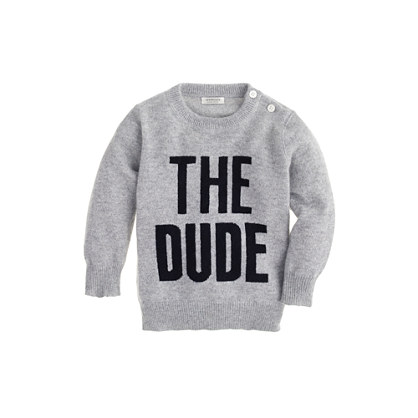 Sale alerts for J.CREW Baby cashmere sweater in the dude - Covvet