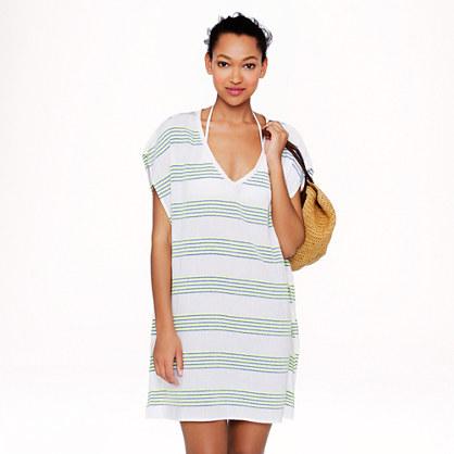 Neon-stripe tunic