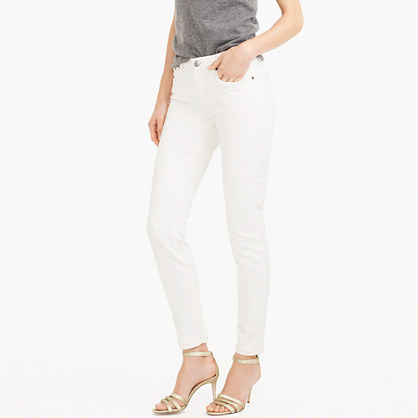 Toothpick jean in white