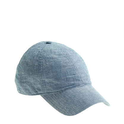 Sale alerts for J.CREW Chambray baseball cap - Covvet