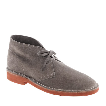Sale alerts for J.CREW MacAlister Brickman boots in suede - Covvet