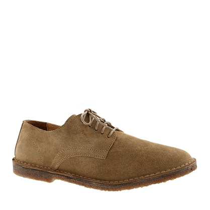 macalister oxfords in suede dress shoes j crew