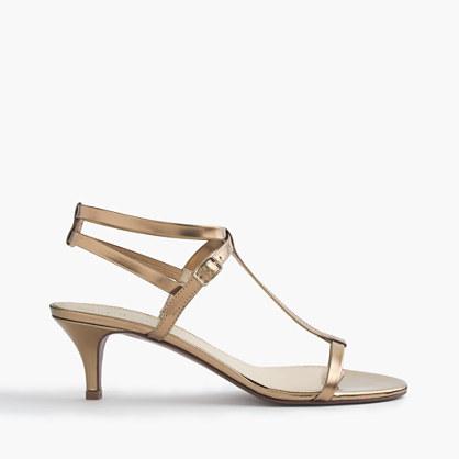Greta metallic sandals