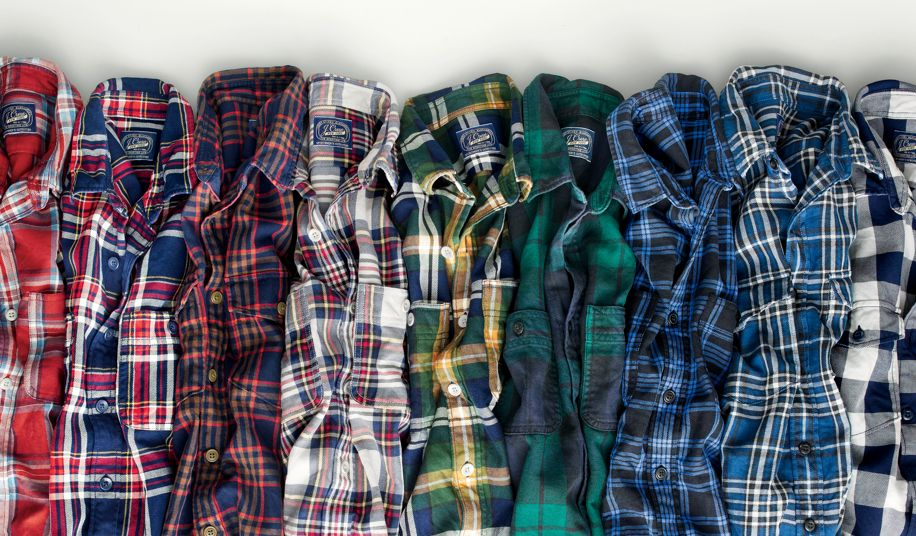 Pick your favorite plaid shirts