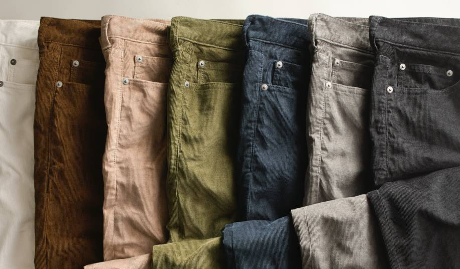 Supersoft pants in 3 fits