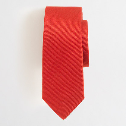 Factory boys' silk tie