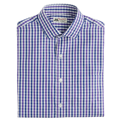 Thomas mason for j crew spread collar dress shirt in for Thomas mason dress shirts