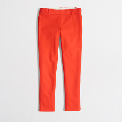 Factory Winnie pant in stretch twill