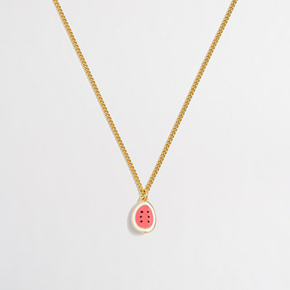 Factory girls' critter chain necklace