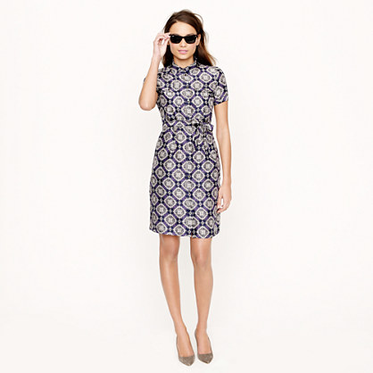 Collection medallion paisley shirtdress