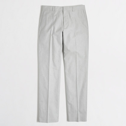 Thompson suit pant in oxford cloth