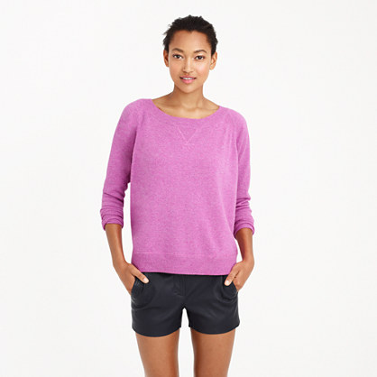 Collection cashmere sweatshirt