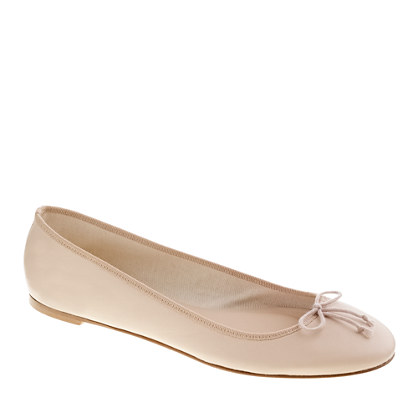 Classic leather ballet flats