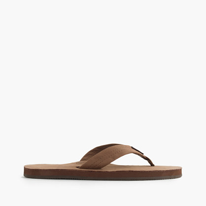 Men's Rainbow® leather flip-flops