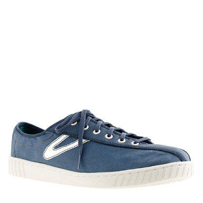 Tretorn For JCrew Waxed Nylite Sneakers