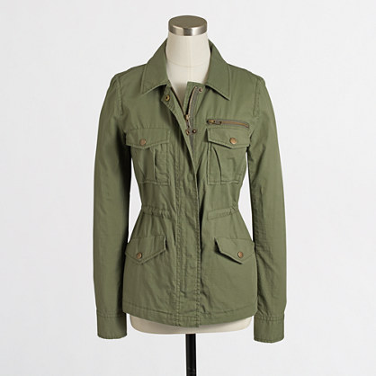 Factory ripstop utility jacket