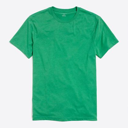 Heathered washed T-shirt