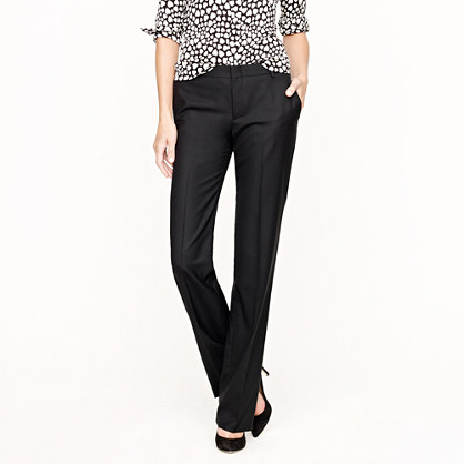Collection women's Ludlow trouser in Italian wool