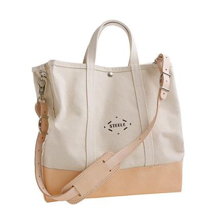 "Steele Canvas Basket Corp.â""¢ for J.Crew coal bag"
