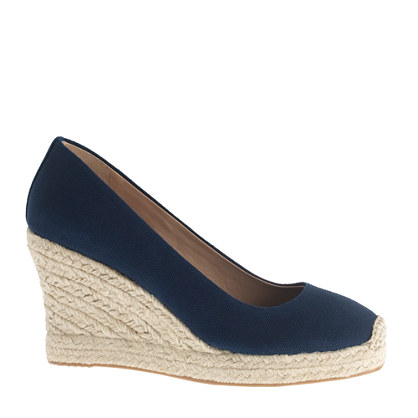 Sale alerts for J.CREW Seville wedge espadrilles - Covvet