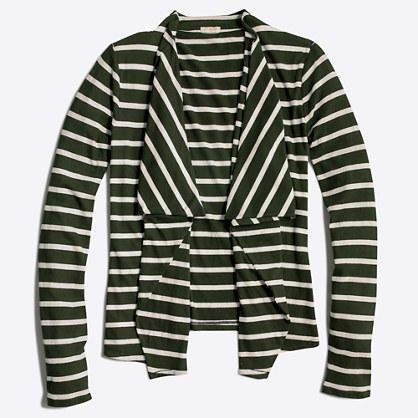 Always cardigan sweater in stripe