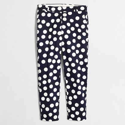 Factory printed skimmer pant
