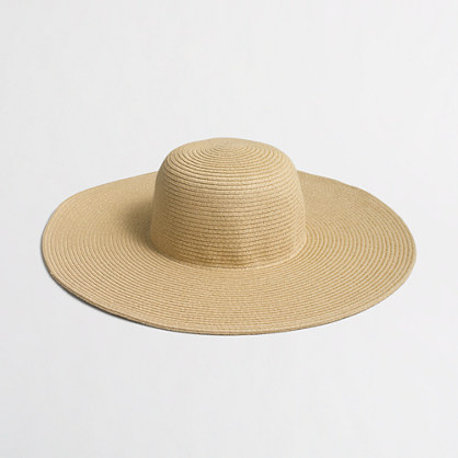 Factory classic straw hat