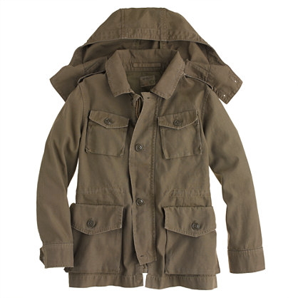 Sale alerts for J.CREW Boys' Garrison fatigue jacket - Covvet