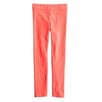 Girls' everyday leggings in neon