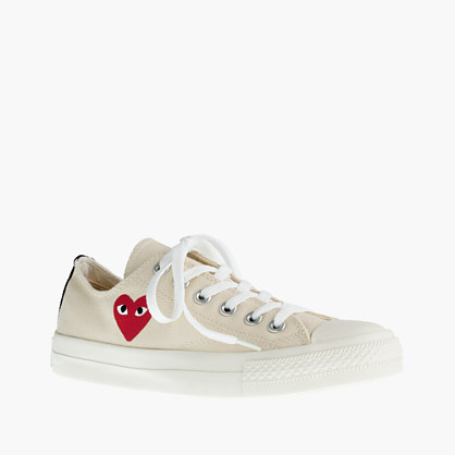 Unisex PLAY Comme des Gar ons® Converse® sneakers