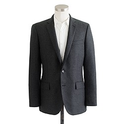 Ludlow sportcoat in Italian cashmere with double vent