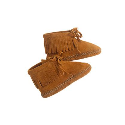 Sale alerts for J.CREW Minnetonka® baby fringe booties - Covvet