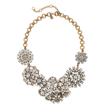 Flower lattice necklace necklaces j crew for J crew jewelry 2015
