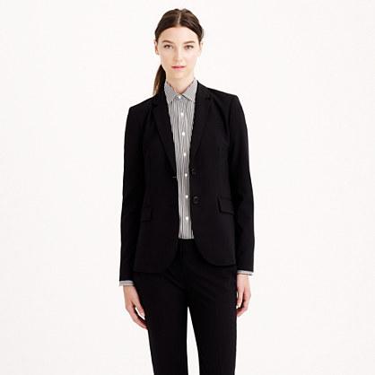 1035 two-button jacket in Italian stretch wool