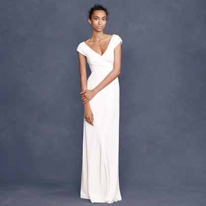Cecelia gown dresses j crew for J crew wedding dresses