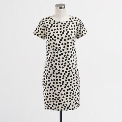 Factory optic dot dress