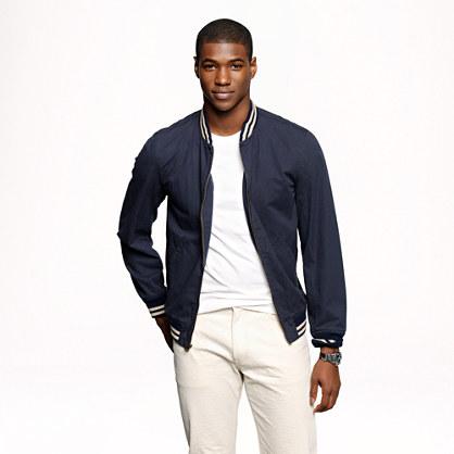 ... Baseball bomber jacket in Japanese cotton : Wallace & Barnes | J.Crew