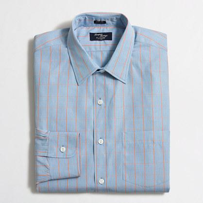 Thompson dress shirt in tattersall