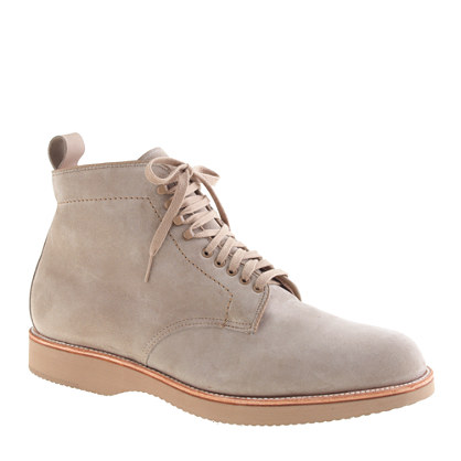 Sale alerts for J.CREW Alden® for J.Crew plain-toe boots in suede - Covvet