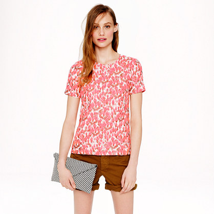 J.Crew Collection Textured Rosebud Top | jcrew spring collection