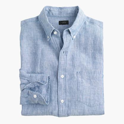 Délavé Irish linen shirt
